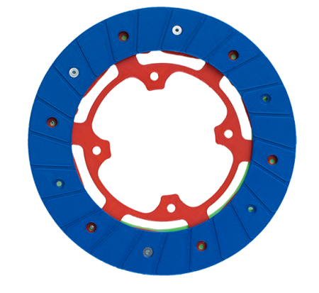 Half assembly production of Tiba 215 clutch disc